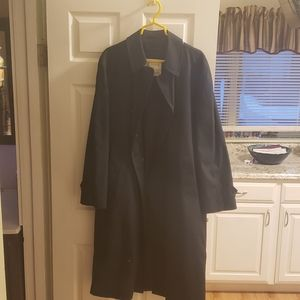 London Fog Navy Trench Coat